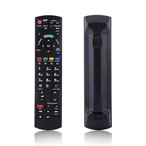 Zerone Smart TV-Fernbedienung (für Panasonic, Universal-Fernbedienung Ersatz für Panasonic (LED LCD TV