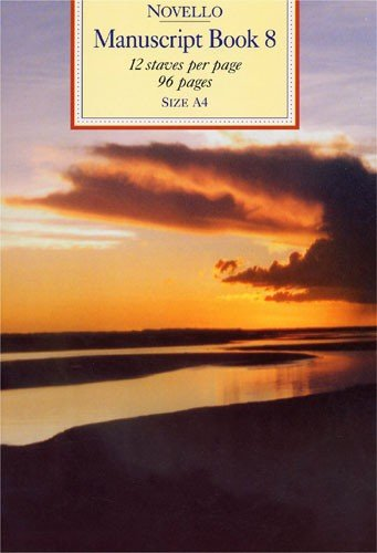 Novello Manuscript Book 8 A4