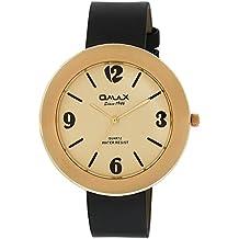 Omax Analog Cream Dial Unisex's Watch - TS434