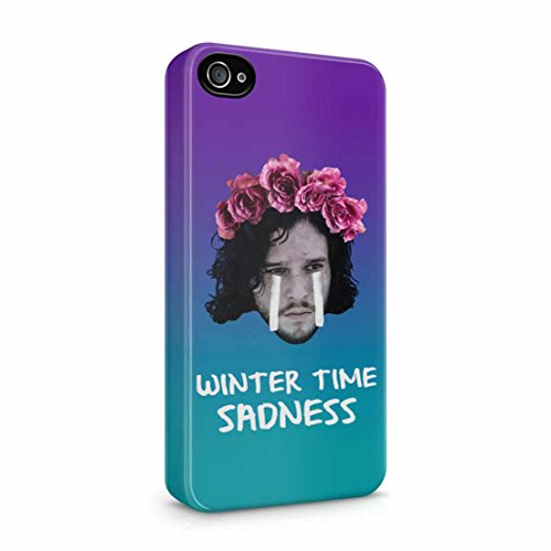 game-of-thrones-jon-snow-winter-time-sadness-iphone-4-4s-hard-plastic-phone-case-cover