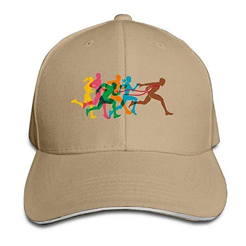 Jxrodekz Color Marathon Cap Unisex Low Profile Baseball Hat WF6870