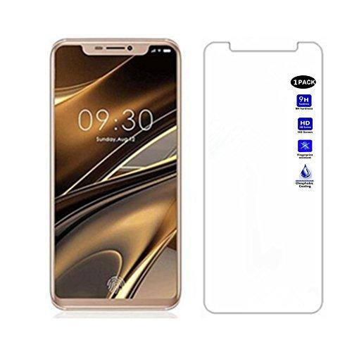 XMTN Doogee V Bildschirmschutzfolie,0.3mm Dünn,9H Härtegrad,Ultra-klar Glasfolie Bildschirm Schutz Folie für Doogee V Smartphone (1 Pack)