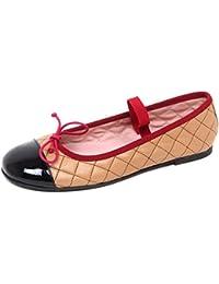 E1848 ballerina bimba PÈPÈ bianco scarpe shoe kid girl FNLa2