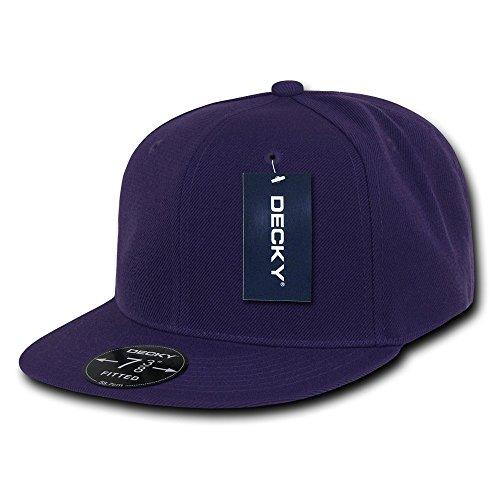 Decky Retro Fitted Caps Head Wear, Herren, violett, Size 23 Preisvergleich