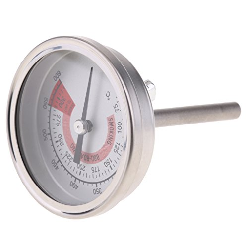 MagiDeal Edelstahl-Ofengrill-Thermometerfleisch, Das Bbq-Sonde 75-300 Grad Kocht