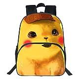 KHDJH Kinderrucksack Mode Druck Kinder Schule Taschen für Teenager Rucksack Cartoon Bookbag Kinder Große Raum Schul E g
