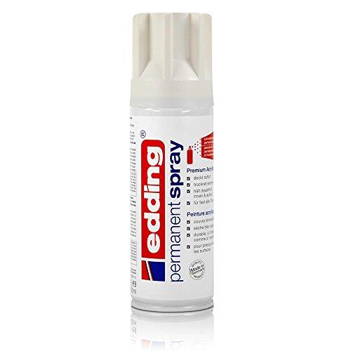 edding® permanent spray, glänzend Verkehrsweiß