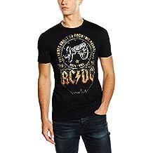 AC/DC Salute–Camiseta de, hombre, color negro, tamaño xx-large