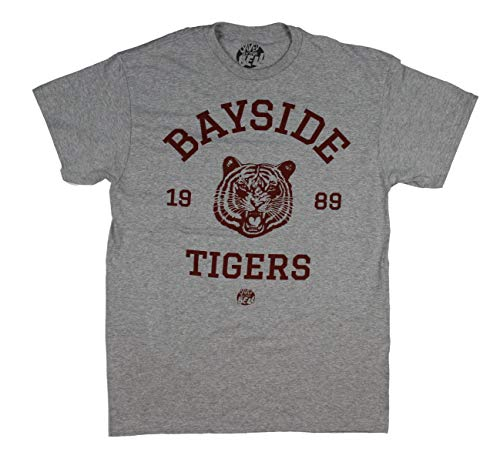 Saved By The Bell Herren T-Shirt Bayside Tigers Vintage - - Mittel -