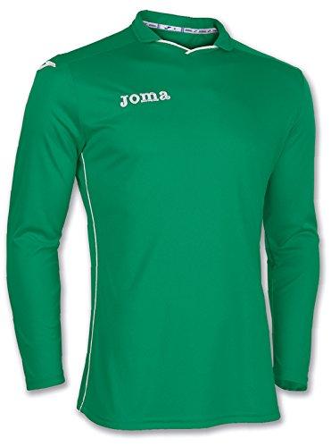Joma Rival Maglia Allenamento Manica Lunga Uomo, Verde, (T-shirt Manica Lunga Camicia Verde)