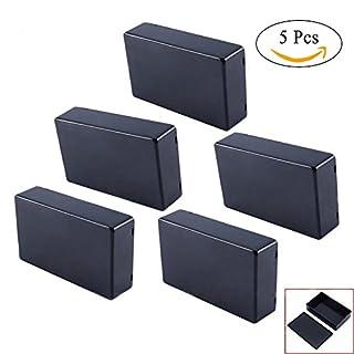 Gehäuse-Anschluss Elektrische Wasserdicht Kunststoff schwarz 100x 60x 25mm (Set W900)