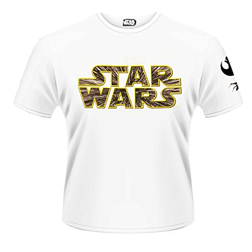 Plastic Head Star Wars The Force Awakens Hyperspace L - T-shirt - Homme, Blanc - Blanc, Large