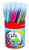 Feutre de coloriage - STABILO Trio A-Z - Pot métal de 36 feutres pointe moyenne - 12 couleurs assorties