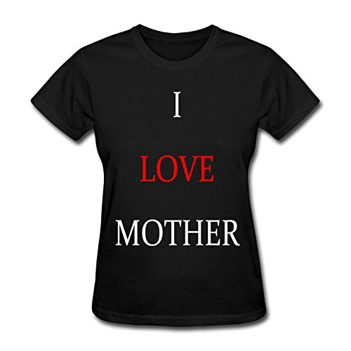 Para Mujer I Love Mother Cotton T-Shirt Large