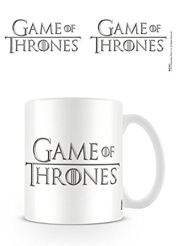 Lasgo Game Of Thrones Tazza Logo, Ceramica, Bianco, 12x10.8x9.2 cm