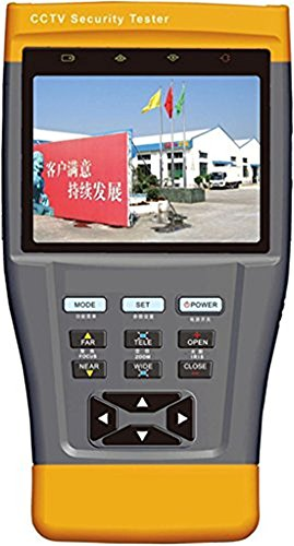 Cctv Tester PRO con monitor Tft-lcd 3.5 pollici, tester video cctv, tester PTZ, telecamera di sicurezza, tester per cavi, tester monitor cctv Stest-893