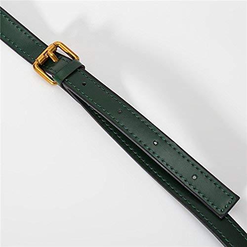 QWC Handtaschen Damenmode Retro Single Shoulder Freizeit Slip,Vintage grün,