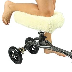 Faux Sheepskin Knee Walker Pad Cover