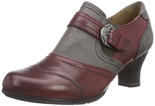 Jana 24449 Damen Pumps Rot (rot (BORDEAUX 549 ))