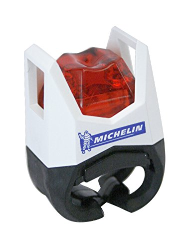 Michelin Erwachsene Led Beleuchtung Ultrahelle Rückleuchte Weiß -