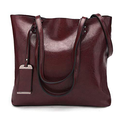 Pahajim Damen Lederhandtasche Damen Rabatt Handtaschen Umhängetasche Damen hochwertige benutzerdefinierte Tasche Wandern Tasche große Kapazität Winter Handtasche