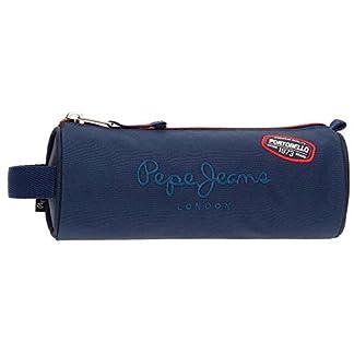 Pepe Jeans Kensington Neceser de Viaje, 23 cm, 1.86 litros, Azul