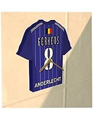 RSC Anderlecht FC Football Club–Maillot de football Horloge–n'importe quel nom et n'importe quel Nombre–Vous Choisissez.