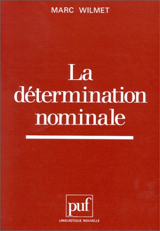La détermination nominale