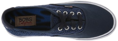 Bobs Da Skechers The Menace Fashion Sneaker Navy