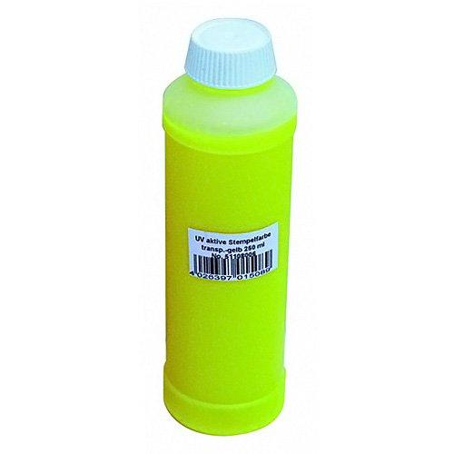 Eurolite 51108006 UV-aktive Stempelfarbe (250 ml) gelb