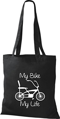 Pochette de vélo bMX roue bonanza sac culte attache plusieurs couleurs Noir - Noir
