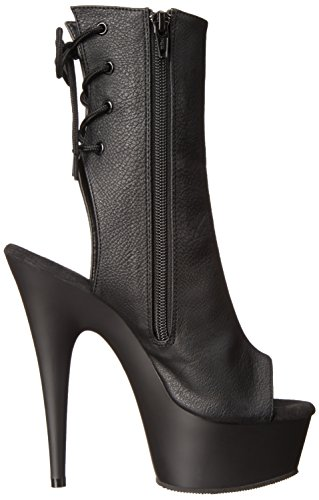 Pleaser Delight 1018, Bottes femme Black (Blk Faux Leather/Blk)