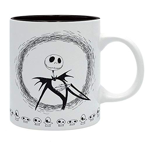 Nightmare before Christmas Disney Premium Keramik Tasse - Jack Skellington - Geschenkbox (Jack Skellington Kostüm Kinder)