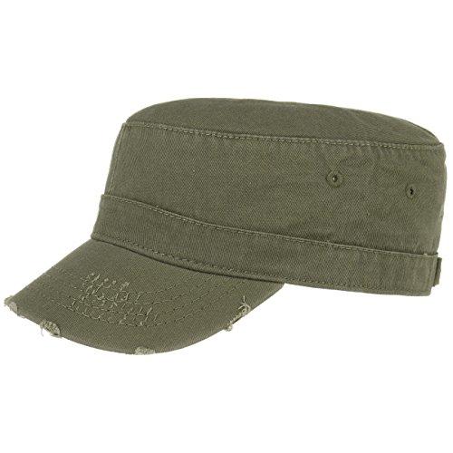 Urban Army Destroyed Cap stile militare usato L/XL (58-61) - oliva