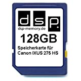 Best Selling DSP Memory Scheda di memoria per Canon IXUS 275HS 128 Gb be sure to Order Now
