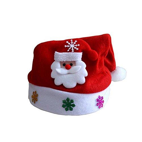 CoralStoreBaby Kleinkind Weihnachtsmütze warm Weihnachten Kostüm für Party Junge Mädchen Mütze Einheitsgröße 1 (Warme Kostüm Für Kleinkind)
