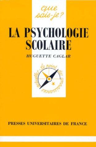 La psychologie scolaire