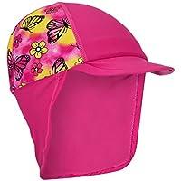 Gorro solar para niños – upf45 sombreros de protección solar infantiles, uso en seco y en mojado, los mejores gorros contra el sol para niños y niñas, con protección UV por Muzitao