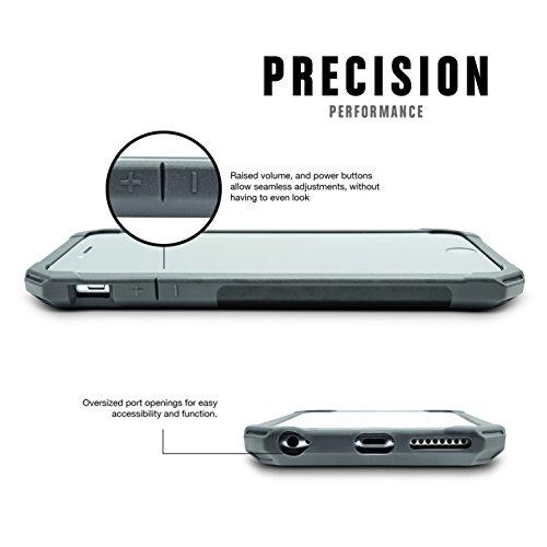 Rokform Sport Schutzhülle iPhone 6 Plus / 6S Plus (5.5) Hülle mit Magnetic Auto-Halterung - Tasche in Klar weiß