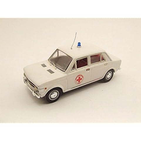 Fiat 128 C.R.I. Croce Rossa Italiana 1970 1:43 Model RIO4187