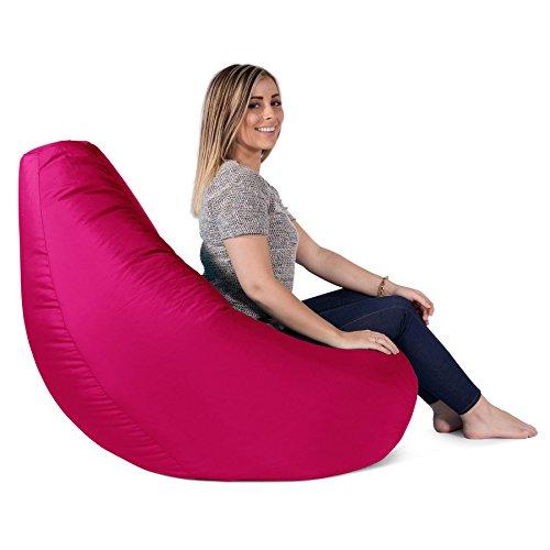 Big Bertha Original, Gaming Sitzsack Sessel Mit Passendem Hocker, Pink - 2
