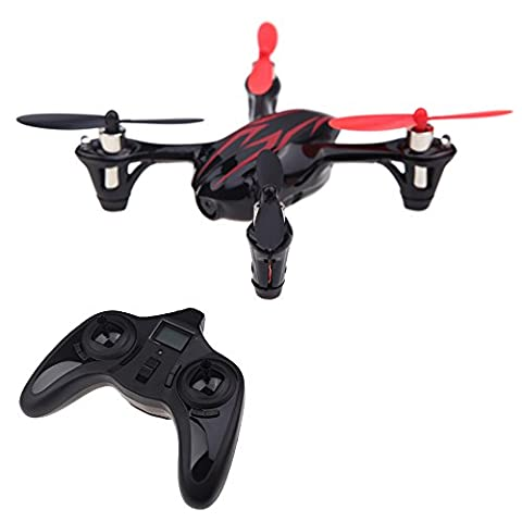 100 % Original Hubsan X 4 H107C 2.4 G 4CH RTF RC Hélicoptère Quadcopter W / HD Appareil Photo 2MP Noir &