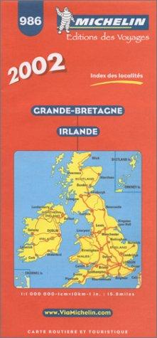 Grande-Bretagne Irlande. 1/1 000 000