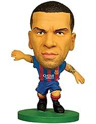 Soccerstarz - 73456 - Figurine Sport - Fc Barcelona Dani Alves - Maillot Domicile