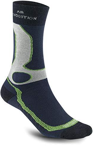 Meindl Herren air Revolution Dry Outdoor & Funktions- Socken marine / mint, Größe:40-43 (M)