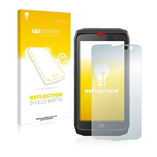 upscreen Reflection Shield Matt Bildschirmschutzfolie Crosscall Action X3 Schutzfolie Folie - Entspiegelt, Anti-Fingerprint