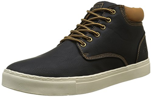 KappaCoutem 2 - Sneaker Uomo , Nero (Nero / marrone chiaro), 41