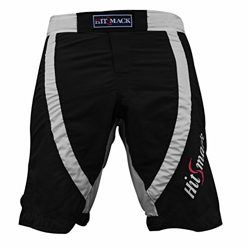 Hitsmack MMA Fight Shorts Cage Fight UFC Grappling Muay Thai Boxing Martial Art