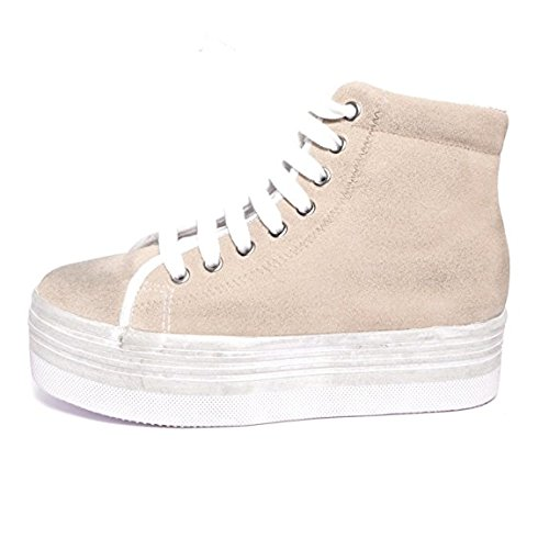 JC PLAY - HOMG SUEDE WASH - SAND WHITE (38)