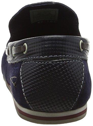 Bugatti F066634, Mocassins (Loafers) Homme Bleu (Dunkelblau 425)